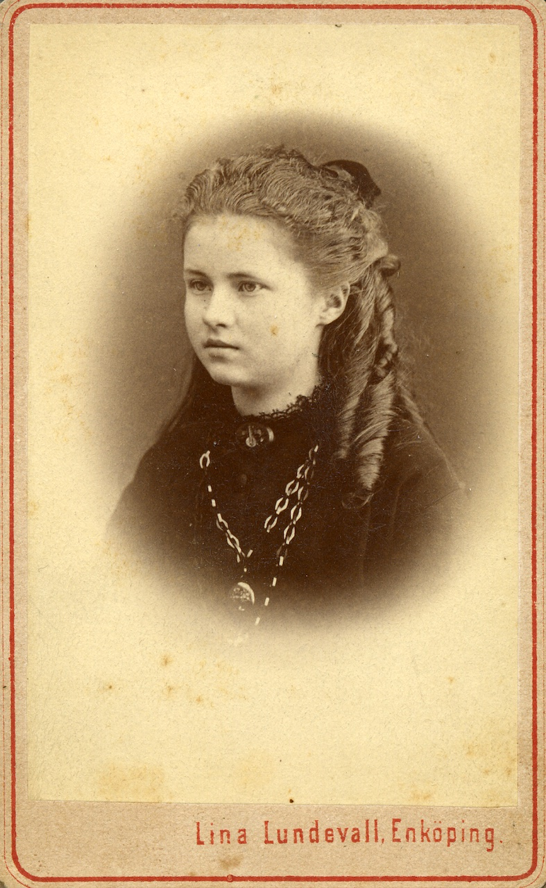 Munthe's first wife Ultima Hornberg (1861-1895)